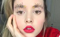 圣诞节妆容怎么画好看 圣诞主题妆容的画法及教程